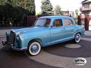 Efekt finalny Mercedes 220 S 1959 r